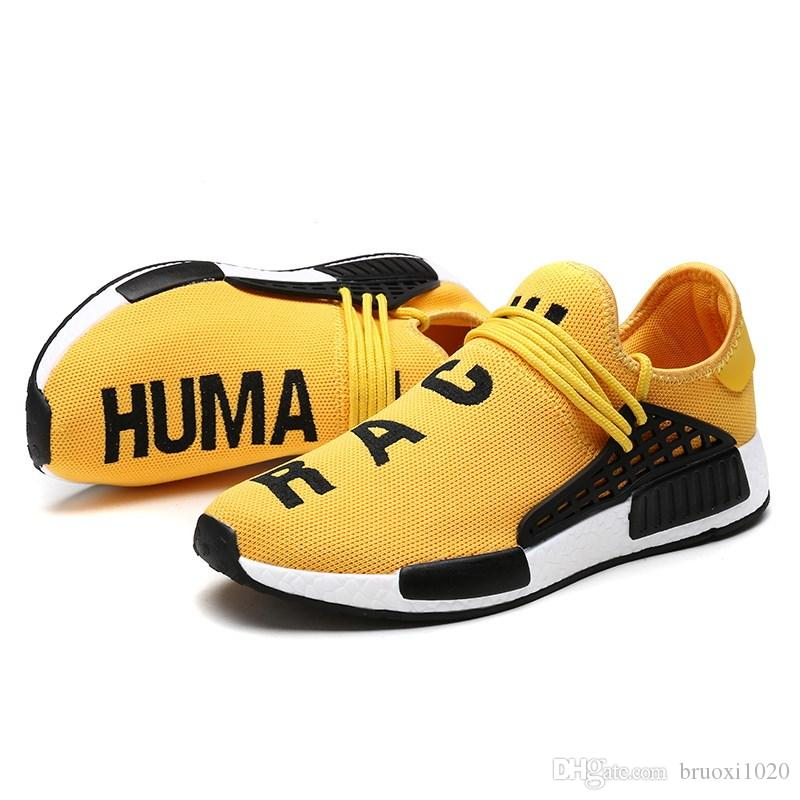 8ebca6e5d 2019 Cheap NMD Online Human Race 1.0 Wholesale Pharrell Williams X Sports  Running Shoe Discount Cheap Athletic Mens Shoes Sneakers Sale Womens Running  ...