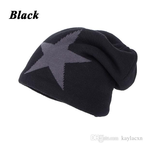 Joymay Brand Men Winter Hat Beanie New Fashion Mens Skull Caps ... 6e967471da6
