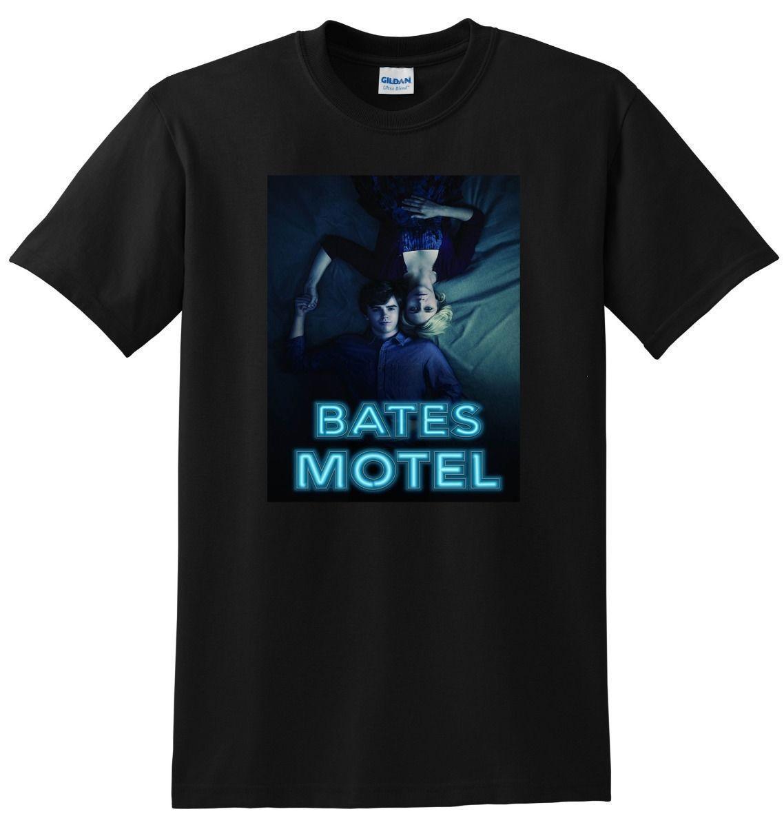 d4c08088d82b1  NEW  BATES MOTEL T SHIRT Season 1 2 3 Bluray Dvd Poster SMALL MEDIUM LARGE  XL Comfortable T Shirt Casual Short Sleeve Print Purchase T Shirts Silly T  Shirt ...