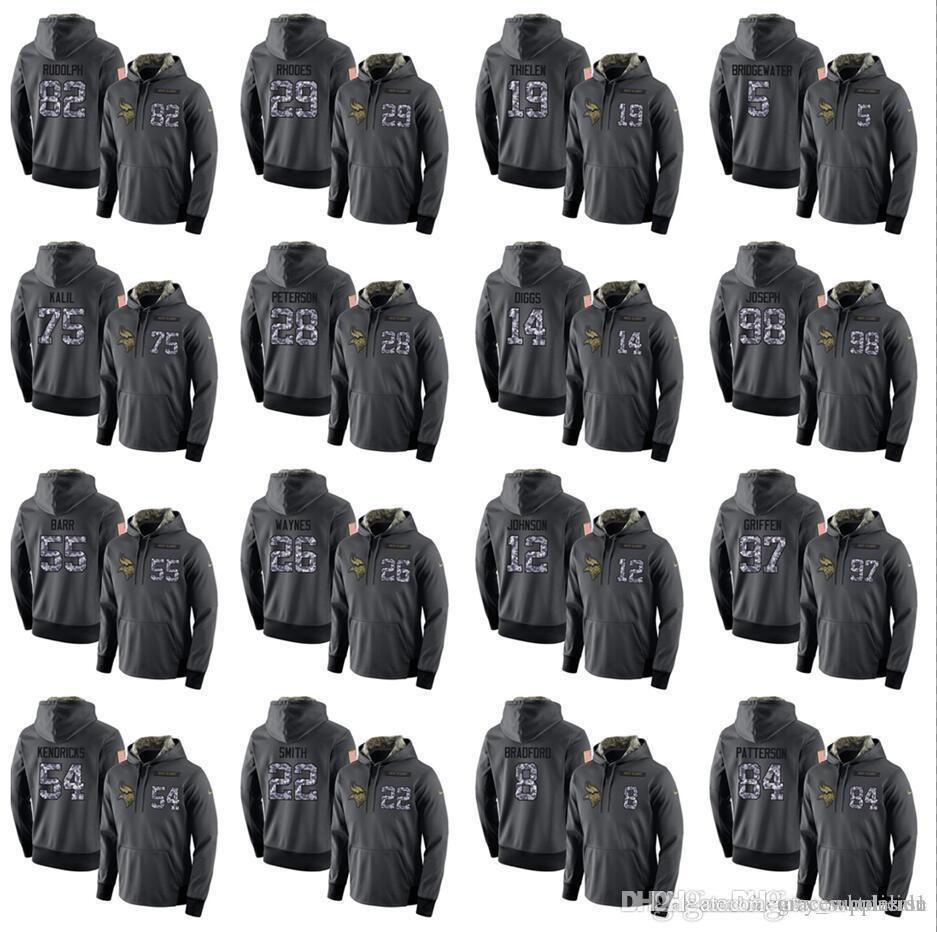 7382e768 Top Quality Hoodies Minnesota Vikings Sweatshirt Mens Stitched admiral  Hoodie Hot Sale 100% Cotton
