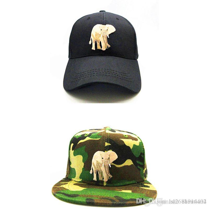 efdb09a5fbb LDSLYJR 2018 Elephant Animals Embroidery Cotton Baseball Cap Hip Hop Cap  Adjustable Snapback Hats For Kids And Adult Size 286 Hats Online Cap Online  From ...