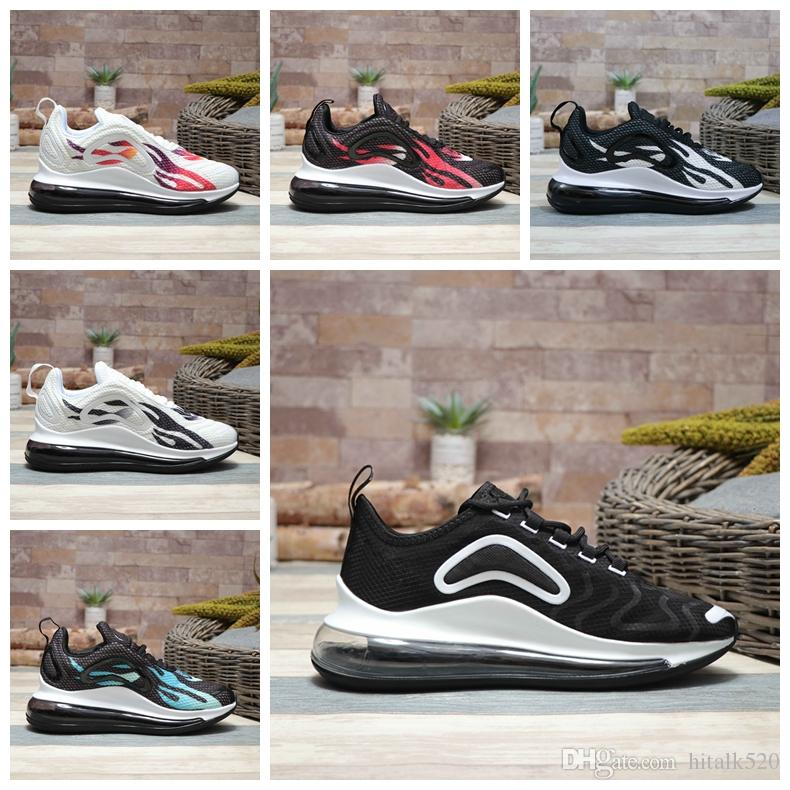 competitive price 00f30 1572f Compre Nike Air Max 720 Airmax 720 Nuevo 720 Cojín Zapatillas De Running Para  Hombre Original TN Moda 720s Cómodo Transpirable De Fondo Plano Maxes Con  ...