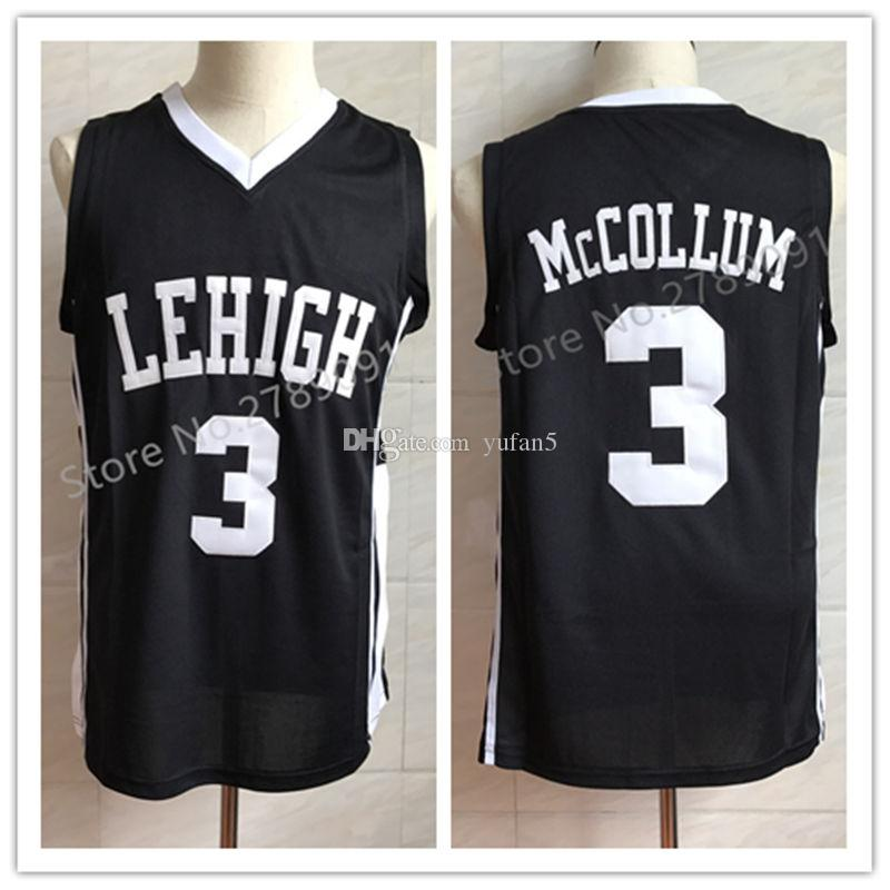 c372b648cb7 2019 #3 CJ McCollum Lehigh Mountain Hawks College Retro Classic Basketball  Jersey Mens Stitched Jerseys From Yufan5, $29.44 | DHgate.Com