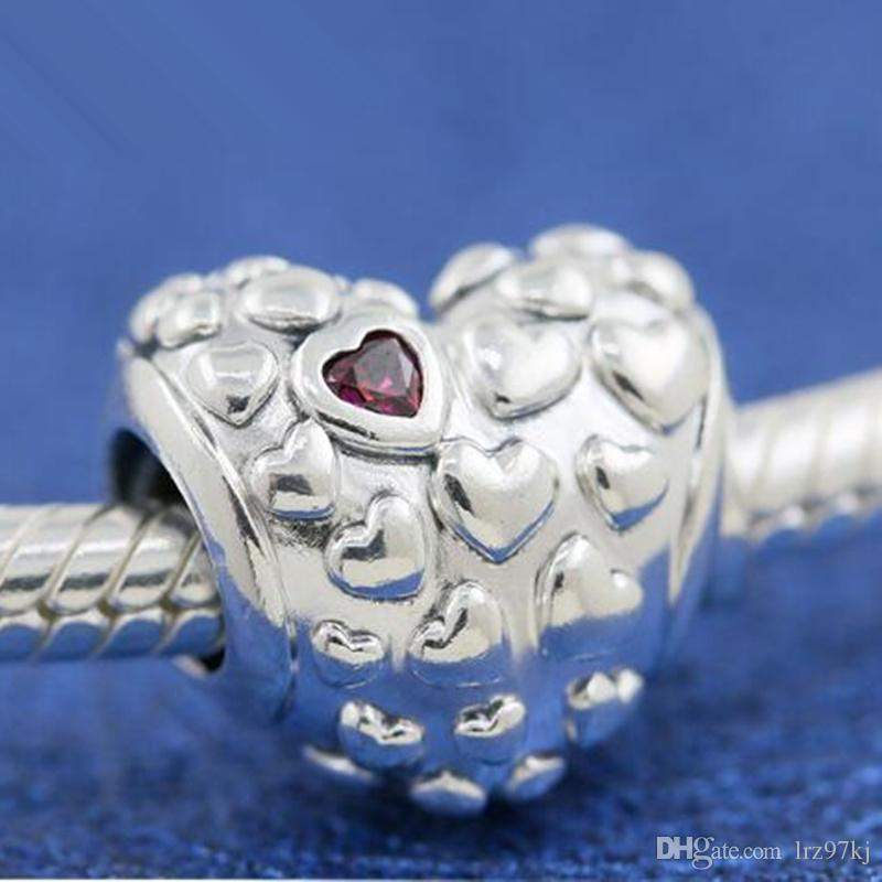 New 2019 925 Sterling Silver Mum In A Million Charm Bead Fits European Pandora Jewelry Bracelets & Necklace Pendant
