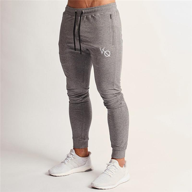cad6a4e62d7290 2019 2018 New Brand Gyms Men Athletics Joggers Casual Men S Sweatpants  Joggers Skinny Homme Trousers Sporting Clothing Bodybuilding P From  Feiyancao