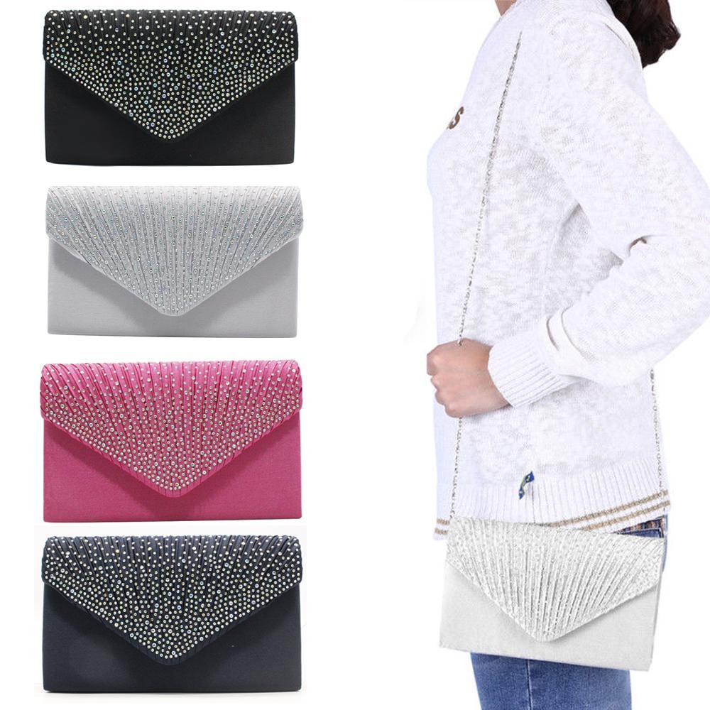 Evening Bag Purse Women Clutch Handbag Lace Envelope Clutch Party Wedding Bag