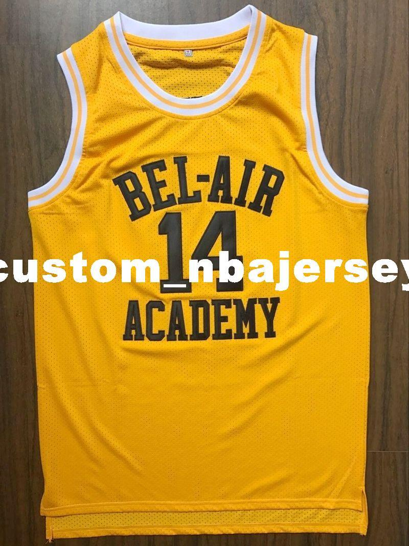 2019 Cheap Custom The Fresh Prince Of Bel Air Academy Jersey Will Smith  Yellow Stitched Customize Any Number Name MEN WOMEN YOUTH XS 5XL From ... 1f8e8f95c