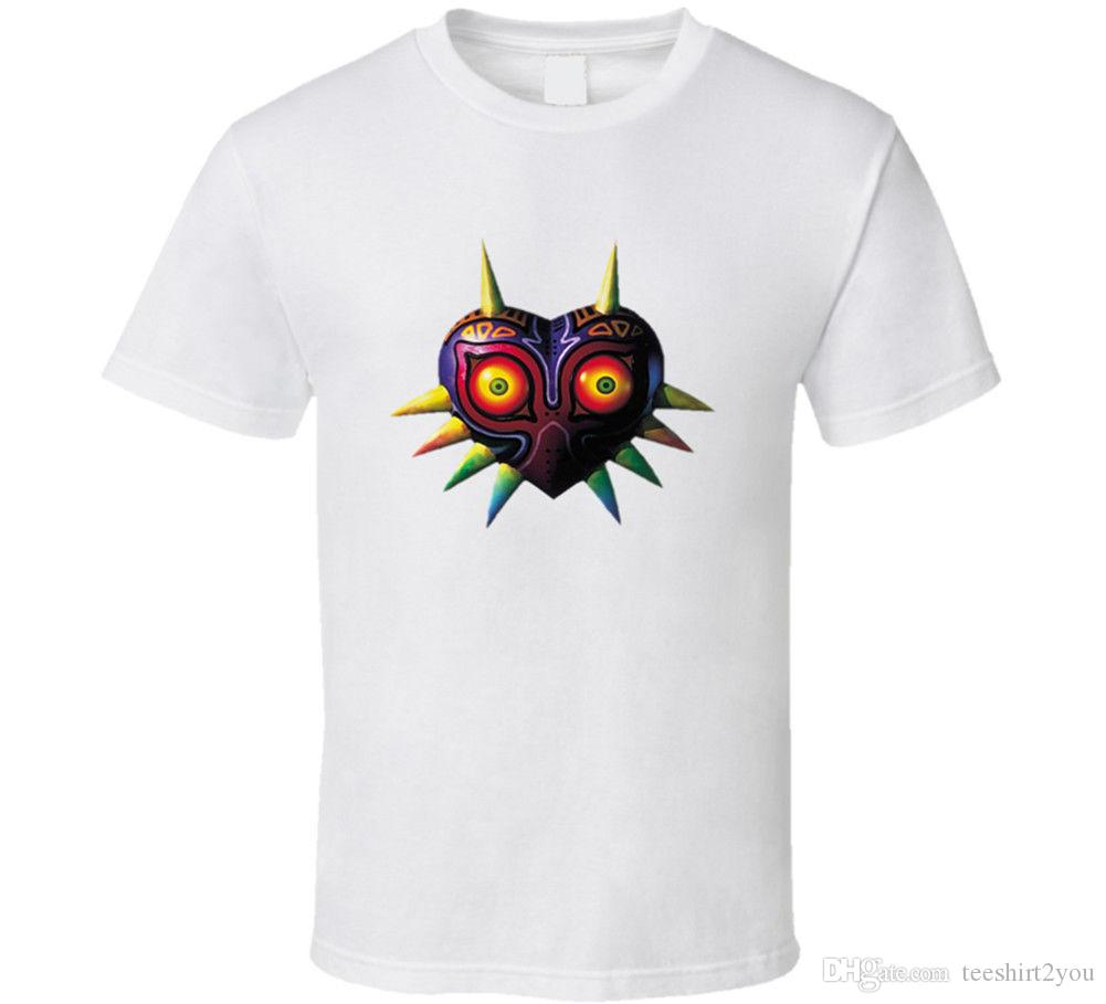 615418634d The Legend Of Zelda Majoras Mask T Shirt Mens Tee Many Colors Gift New From  Us Tees Shirt Men Plain Custom Short Sleeve XXXL Party Tshirt Really Cool T  ...