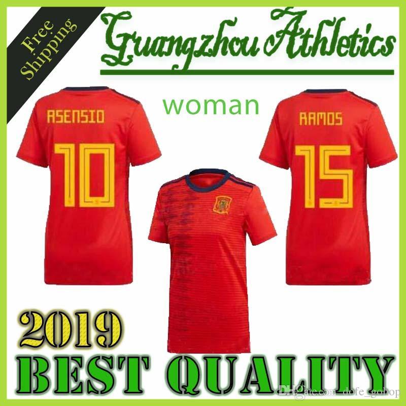 9146f1171 Compre 2019 2020 Espanha Copa Do Mundo Feminina Espana Morata Menina ...