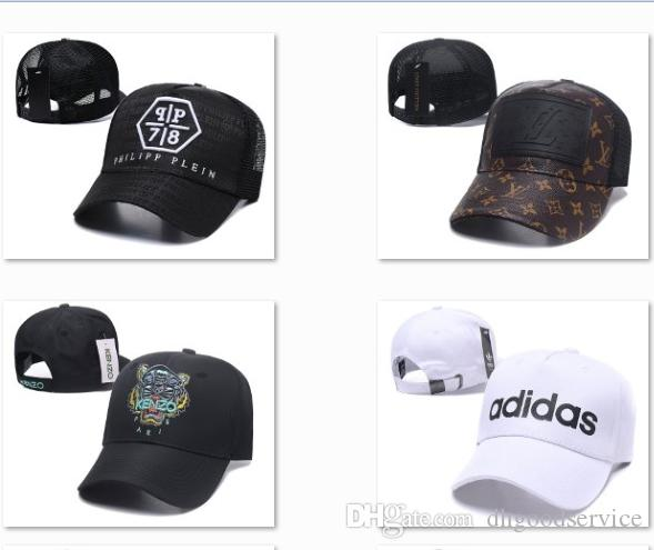 2019 Latest Brand Baseball Cap Skull Luxury adjustable ball caps strapback Softball hats authentic snapback hats team Golf ball Caps DF15G20