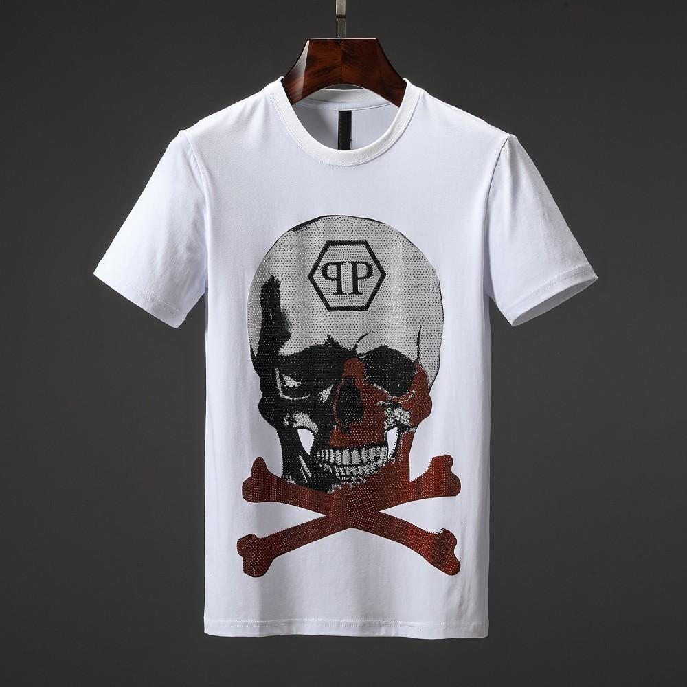 074ae76a Factory Direct SalesMen'S Spring And Summer New T Shirt Red Gradient Hot  Drilling Tiger Head Printing Half Sleevep Custom T Shirts T Shirt Printing  From ...