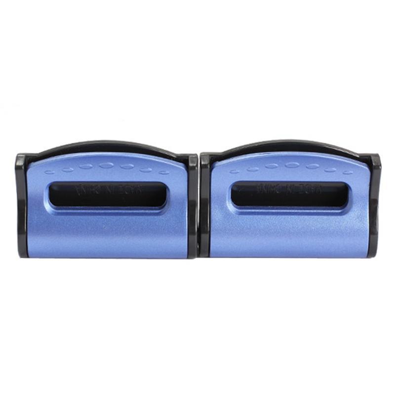 2 x bmw Fiat universal plástico stopper para cinturón de seguridad en negro-nuevo