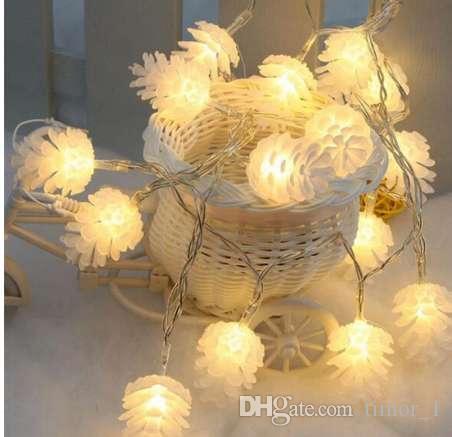 ed9d351d99 Compre 3 M 20 LED Natal Corda Fada Luz Navidad Árvore De Natal Luzes LED Ao  Ar Livre Guirlanda De Natal Decorações Para Casa De Timor 1