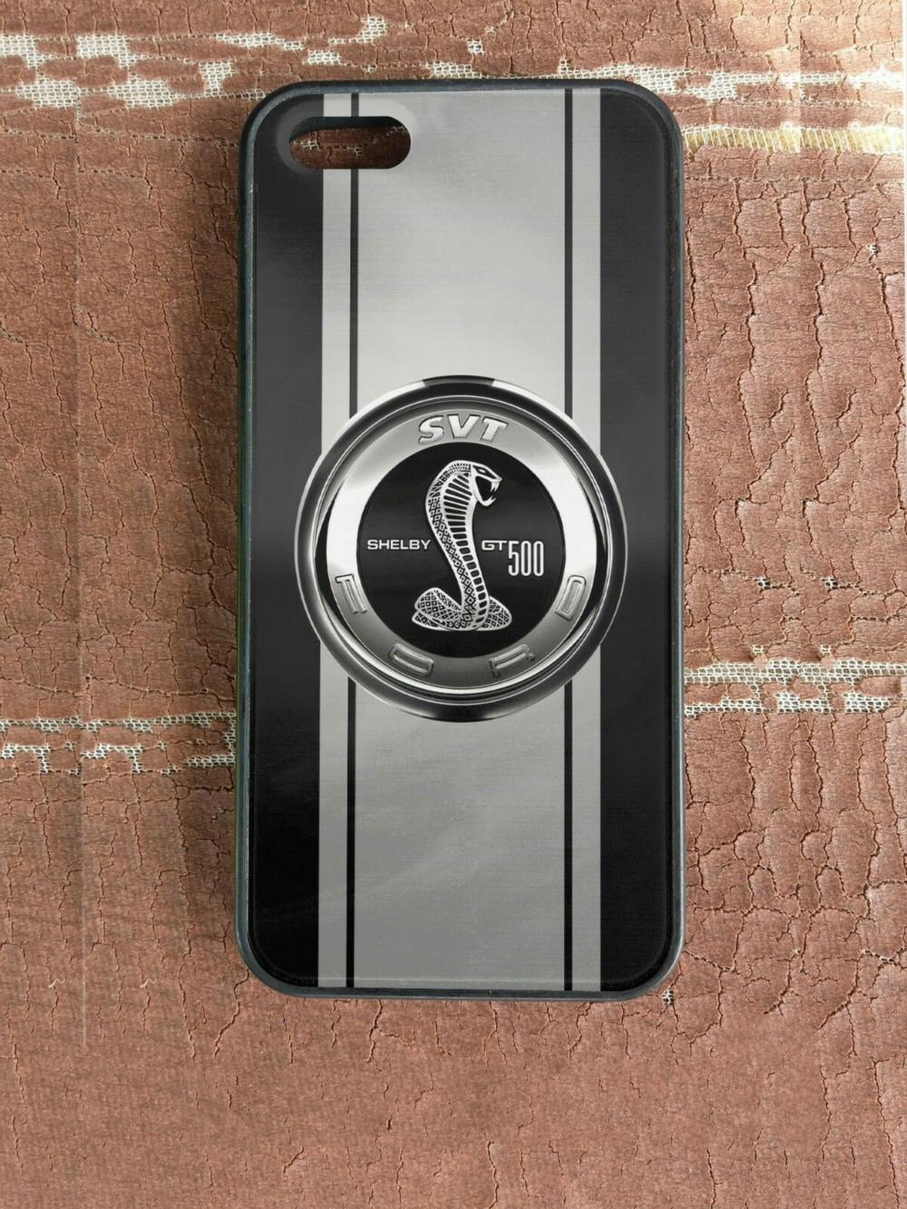 Get New Shelby Cobra GT500 Mustang Phone Case For Iphone 5s 6s 6plus 6splus  7 7plus 8 X Samsung Galaxy S6 S6ep S7 S7ep S8 S9