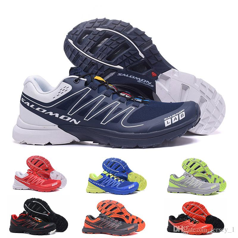 buy popular eaca9 bcfe3 2019 2019 New Mens Salomon S LAB SENSE Ultra Run Soft Ground Wings Fashion  Running Shoes High Quality Outdoor Jogging Sports Athletic Shoe From  Jersey 1, ...