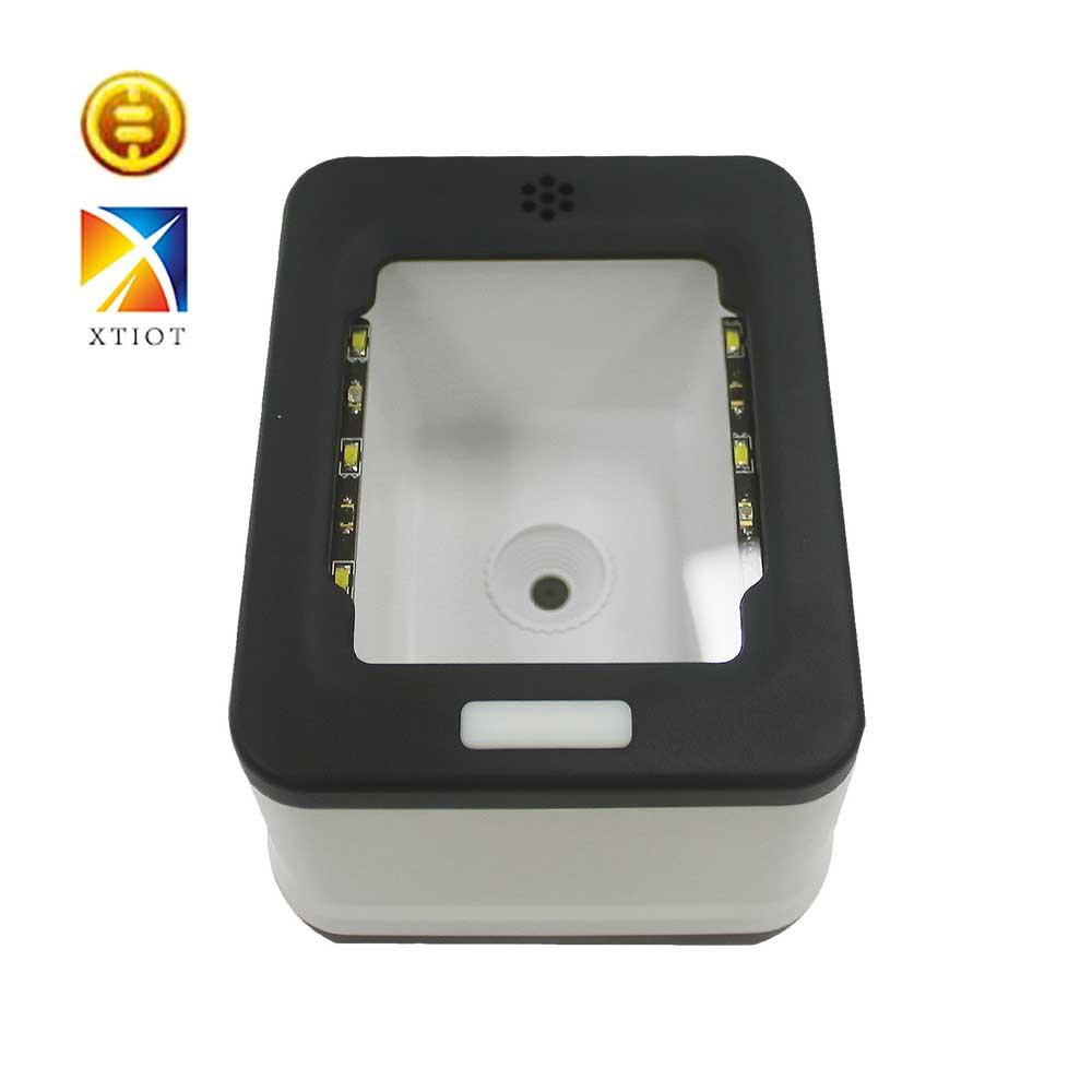 XT2001B Barcode Scanner Platform 1D/2D/QR Desktop Bar Code Scanner Reader Presentation with USB Interface for Supermarket Stores