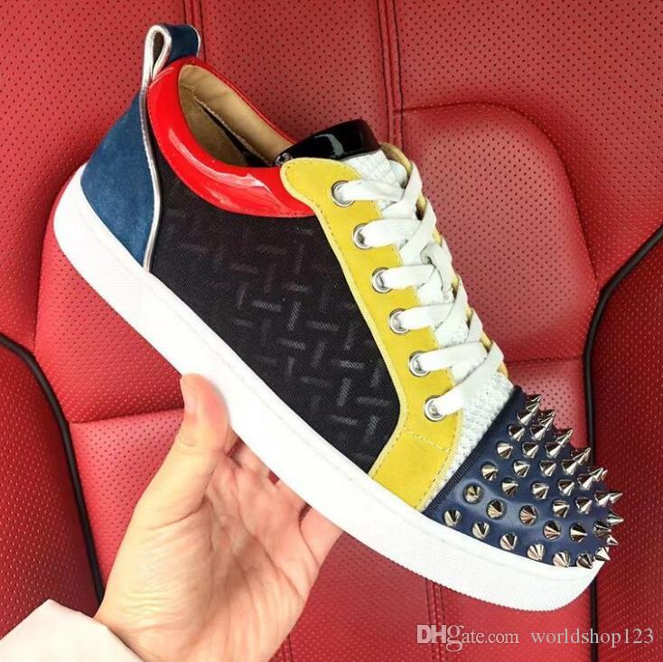 01ae24bc91582 Sole Red Designer!! Young Men Footwear Luxury Designer Red Sole ...