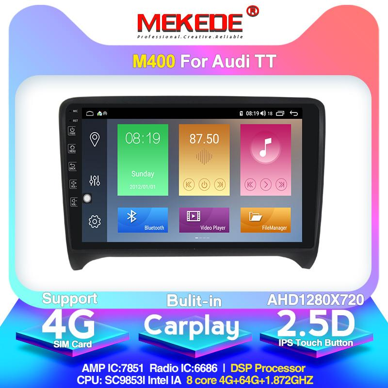 Android 10,0 Chegada! Car Multimedia Player Autoradio para 2006-2012 Built-in carplay rede DSP IPS 4G Wi-Fi BT dvd carro