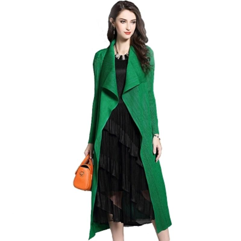 ae3e929d4d3 2019 European 2019 New Spring Long Fashion Trench Coat For Women Plus SIze  Female Cloak Coats Women S Clothing Manteau Femme LX2652 From Blueberry13