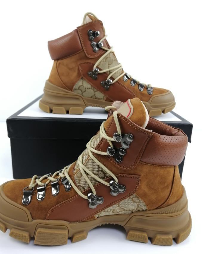 Zapatilla de deporte Flashtrek con cristales extraíbles Diseñador de la marca de lujo para mujer Zapatillas para correr Zapatos para escalar montañas