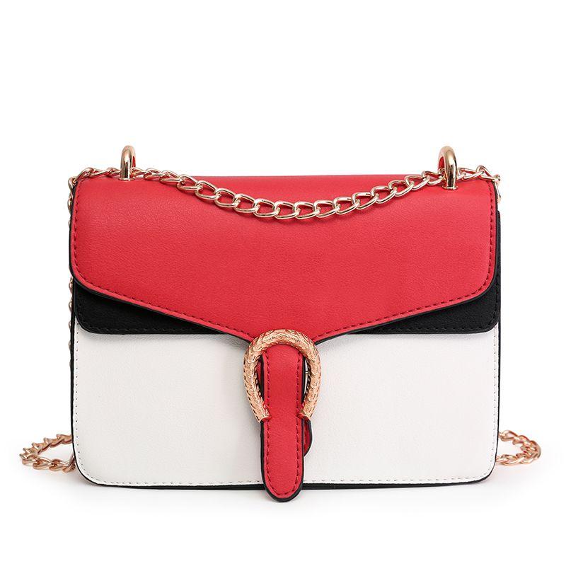 5265a5fd6e1c New Designer Handbag PU leather embossed Shoulder Bags fashion Women Bag  Chain Cross Bag Brand Designer Messenger Bag