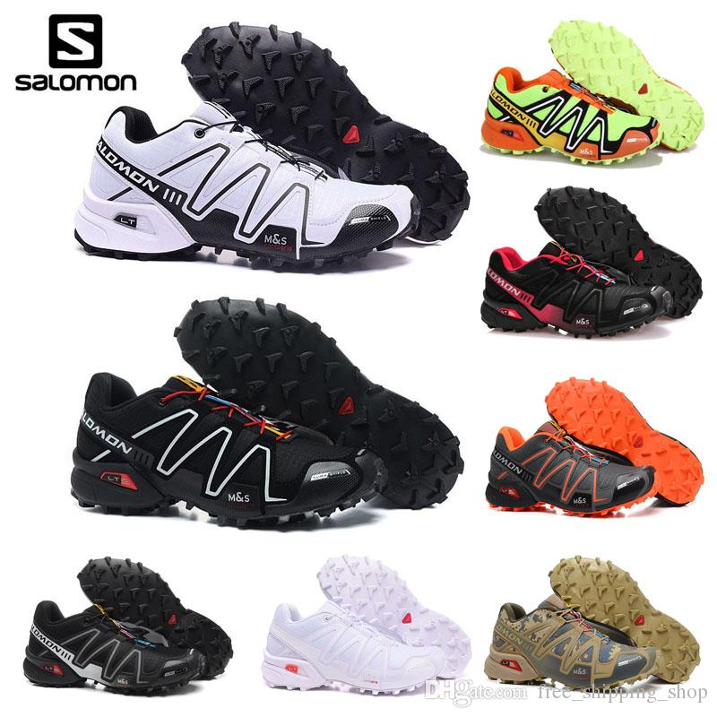 f0df4e10db67 Cheap Sale Salomon Speed Cross 3 CS III Men Running Shoes Outdoor Walking  Jogging Sneaker Athletic Shoes SpeedCross 3 Sports Shoes Eur 40 46 Trail  Running ...