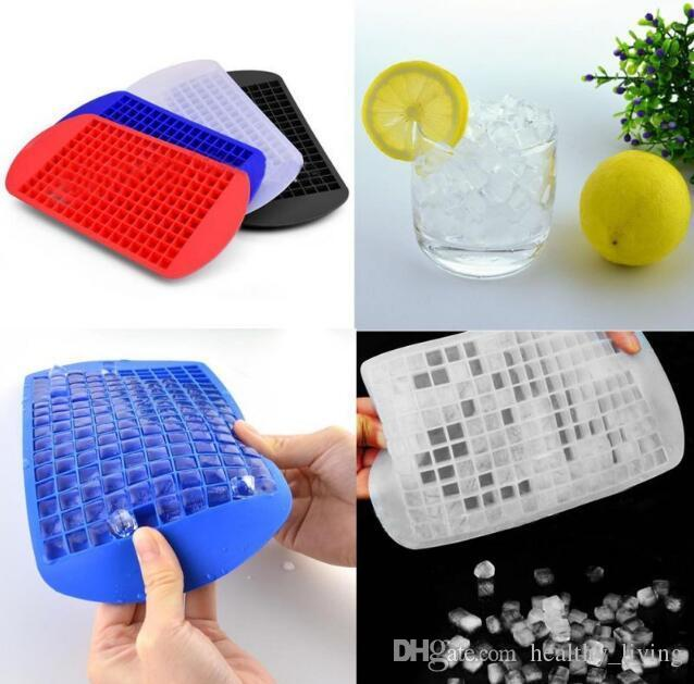 Fashion Ice Cube Tray Silicone Chic Mini Block Novelty Non Stick Jell-O Chocolate Mold DHL Free shipping 111