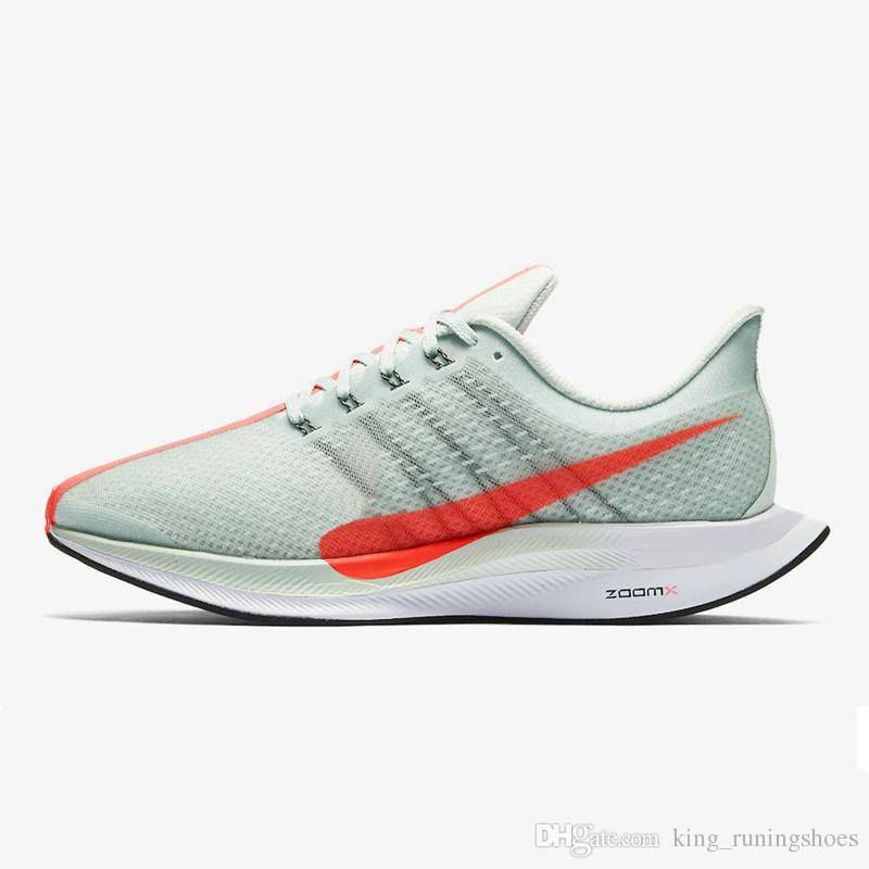 on sale 5baa1 60c61 Air Zoom Pegasus 35 Turbo 2.0 React Grey Hot Punch Black White Men Women  Running Shoes Sports Jogging Vaporfly Trainers P35X Zapatos