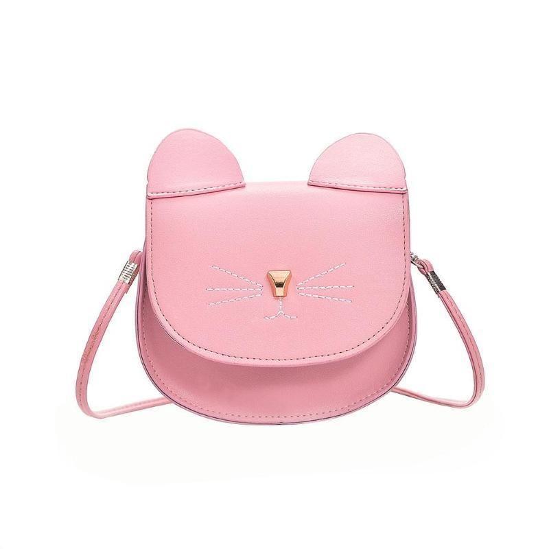 c0e635df6f7b Cheap Fashiongirl Cute Cat Shoulder Bags Women Baby Girl Mini Bags Flap Crossbody  Shoulder Bag Girls Mini Casual Messenger Handbags Baby Duffle Bags ...