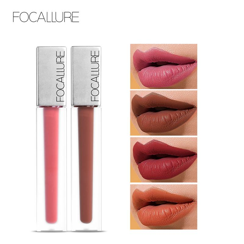 f92f3d26d8 FOCALLURE New Long Lasting & Ultra Matte Liquid Lip Gloss High Quality Waterproof  Lipstick Quick Drying Transfer Free Makeup Buy Cosmetics Online Lip Color  ...