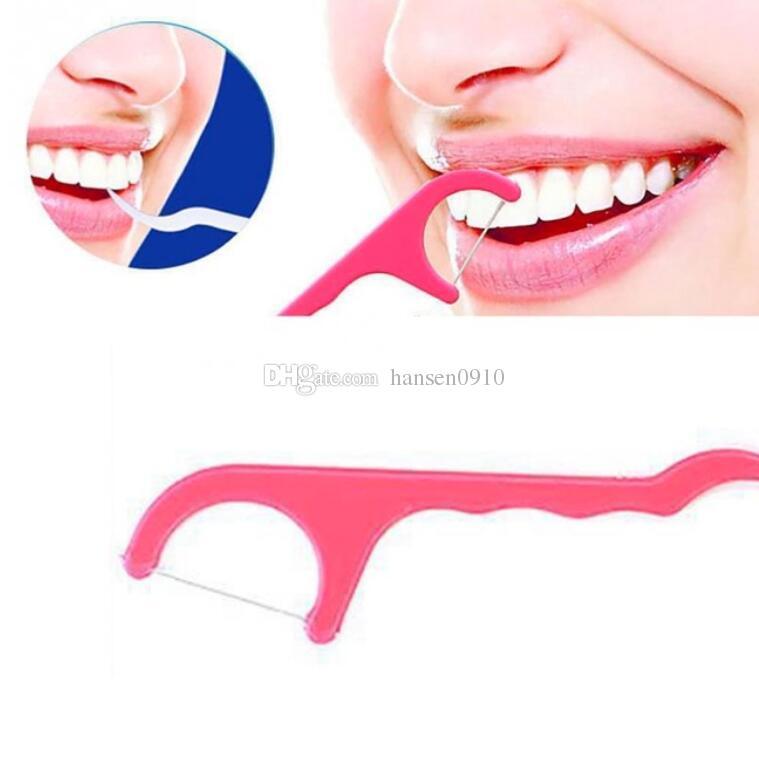 0422686d7 Compre 25 Pçs   Lote Toothpicks Fio Dental Interdental Dentes Da Vara  Pincel Dente Oral Dentes Limpo Ferramentas De Fio Dental Picaretas De  Plástico Dental ...