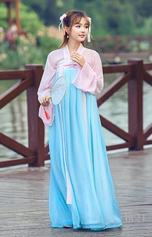Beautiful 2019 Hanfu Women Costume Costume Jacket Ancient Wind Improved Sakura Hanfu  Super Fairy Fresh Quietly Elegant Han Elements Pictorial Clothing From  Bt21, ...