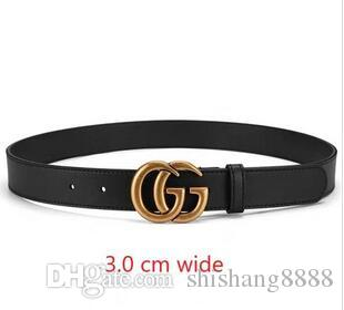 The most popular unisex cattle belt smooth buckle fashionable men's belt wholesale belt men free delivery