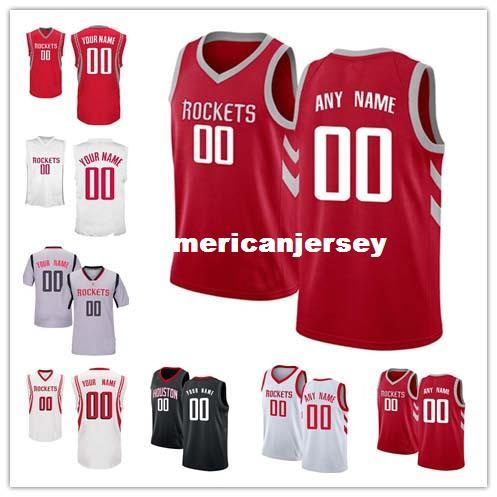 8f7d18f21cf0 2019 Cheap Custom Basketball Jersey Customize Any Number Any Name Men Youth  Women Stitched Personalized Gray Red Black White T Shirt Vest Jerseys From  ...