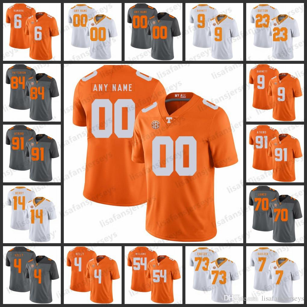 best service 0a0a5 13207 Custom Tennessee Volunteers College Jerseys 16 Peyton Manning 11 Joshua  Dobbs 84 Cordarrelle Patterson NCAA Jerseys College Football Jersey