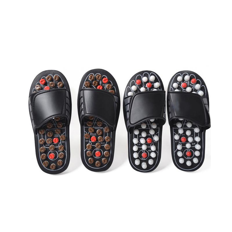 85541640521c 2019 Acupoint Massage Slippers Sandal For Men Feet Chinese Acupressure  Therapy Medical Rotating Foot Massager Shoes Unise From Youerbeauty