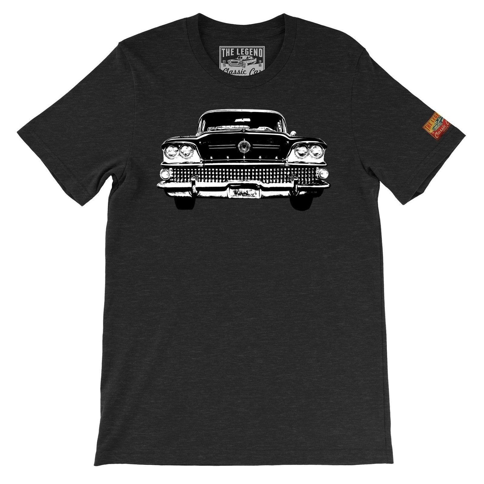 11508983a 1958 Special The Legend Classic Car T Shirts Made In USA American Car Custom  T Shirt Logo Text Photo Mens Womens T Shirt T Shirts Cool Designs Awesome T  ...