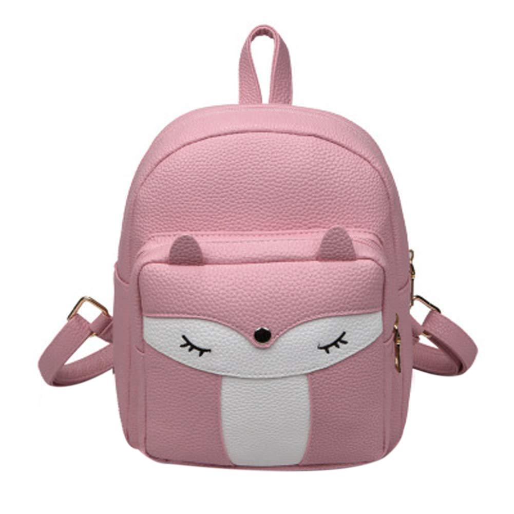 076a600a45 Cute Mini Leather Fox Fashion Backpack Small Daypacks Purse For Girls Tool Backpack  Best Laptop Backpack From Heheda3