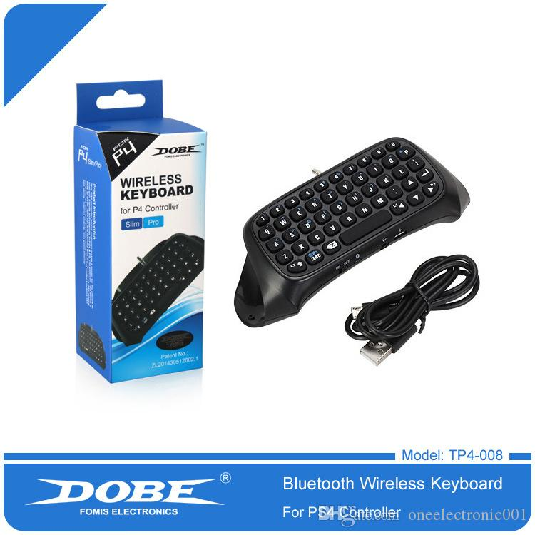 PS4 handle Bluetooth Wireless Keyboard PS4 Bluetooth Keyboard game handle  chat Bluetooth Keyboard TP4-008 for game