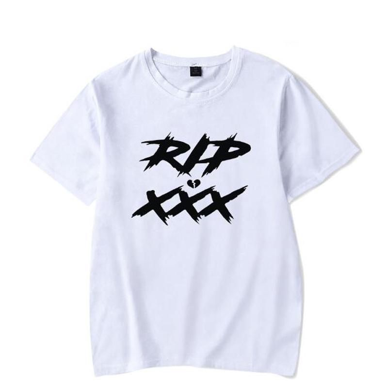 Compre Rip Xxxtentacion Camisetas Hombre Verano Camisetas De Manga Corta Rap  Xxx Tentacion Imprimir Tops Y Camisetas Hip Hop Streetwear Camiseta  Divertida A ... be889c20032