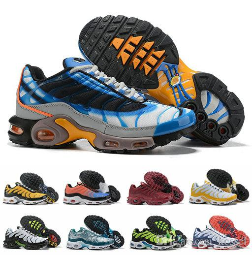 2019 Designer Plus Tn Se Greedy Running Shoes Mens Trainers Chaussures Tns Ultra Breathable Sneakers Zapatillas De Sports Schuhe Size 40 46 Running