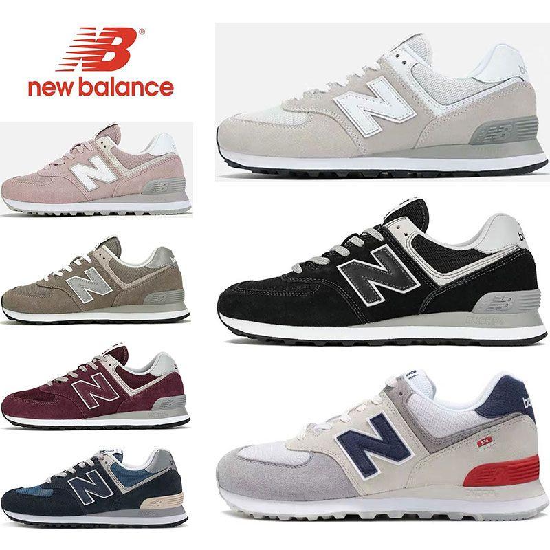 new balance hombre 574 blanco