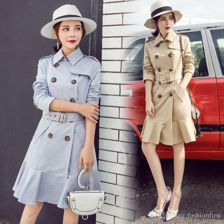 82a0dd15be 2019 High Quality 2019 New London Classic Plus Size Lady Coats ...