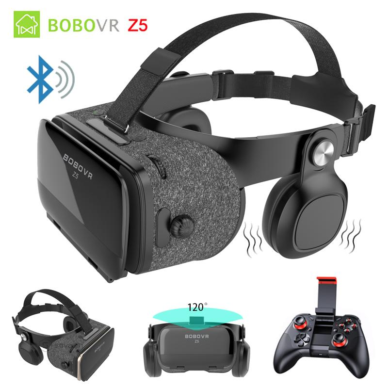93d4041e1d1 BOBOVR Z5 Bluetooth Binocular 3D Glasses Immersive VR Box 3D Virtual  Reality Goggles Shock Headset For IPhone 7 Plus Smartphones High Quality 3D  Glasses  3D ...