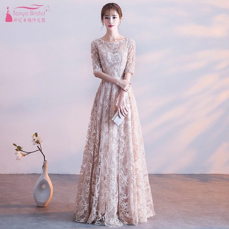Kleid Lange Ballkleider Spitze Auf Frauen Dame Vintage Abendkleid Formale Khaki Lager Dqg650 High Fashion qUzMVpS