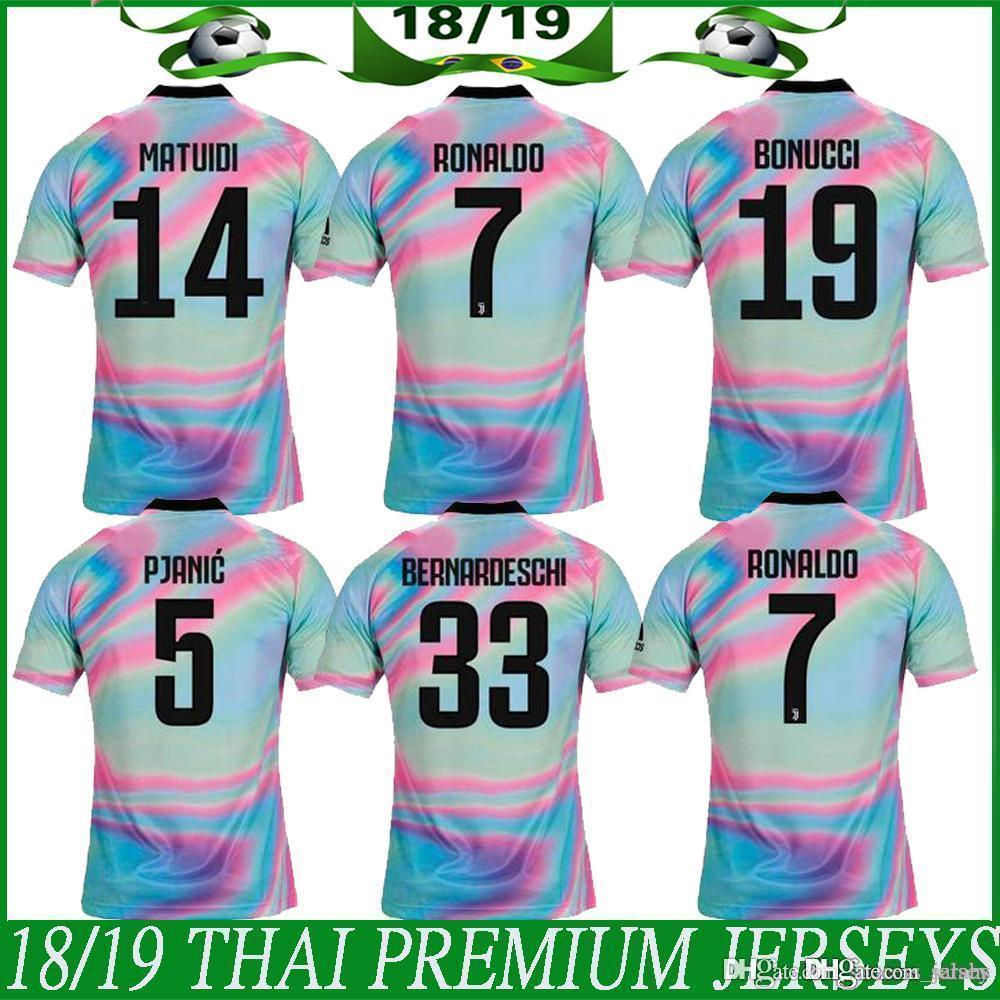 b6aaf2f1b New 2019 Juventus Limited Edition Soccer Jersey White EA Sports Jerseys  7  RONALDO  10 DYBALA Juventus Special Version Football Shirts S 3XL NZ 2019  From ...