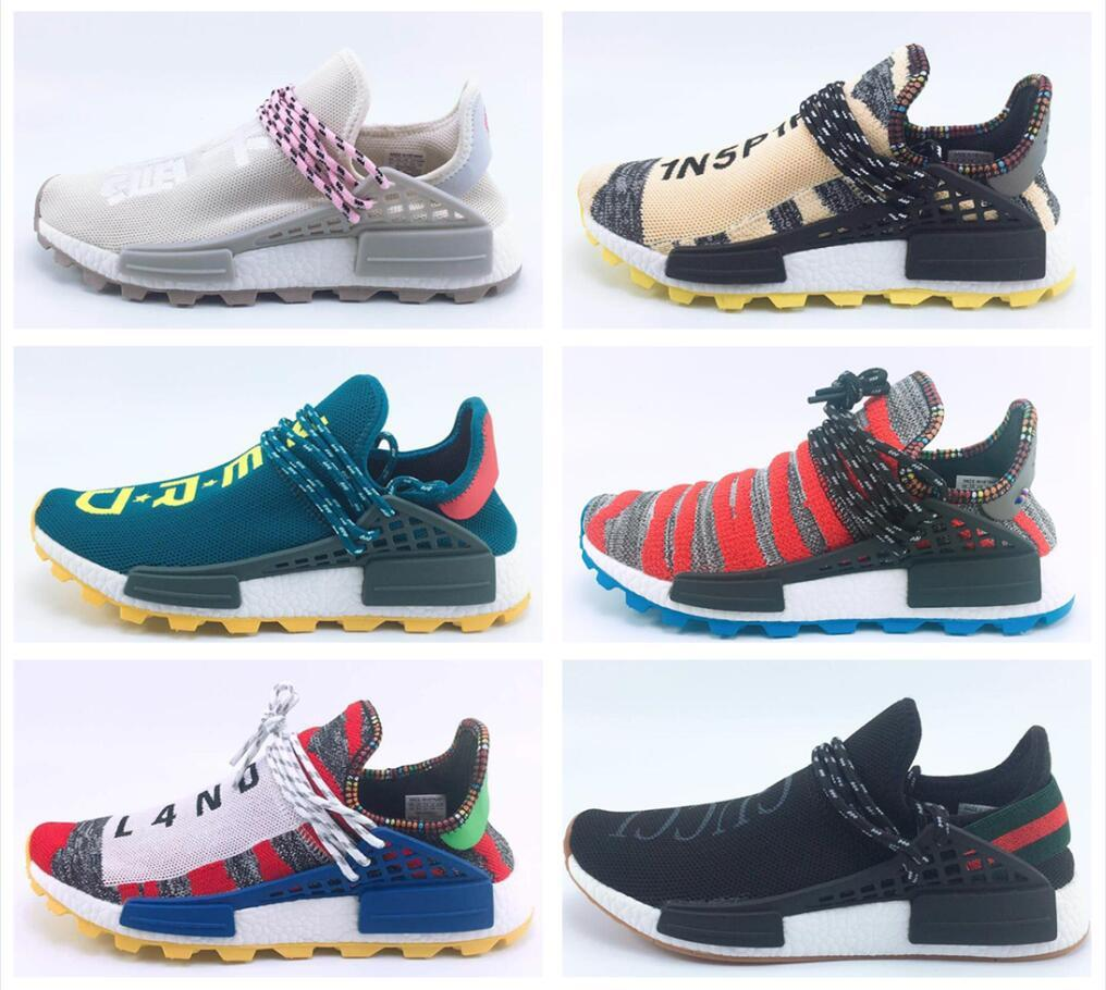 bf0cd801e Release Pharrell Williams Solar Hu Glide Hu Trail Human Race Man Running  Shoes Authentic Quality Sneakers Sports Girls Sports Shoe Boy Sport Shoes  From ...