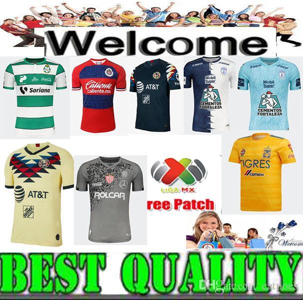 low priced a88ee 23001 2019 Club America Chivas Cruz Azul Soccer Jersey Home 19/20 LIGA MX 2020  Jerseys Pachuca UNAM Necaxa football shirts Uniform