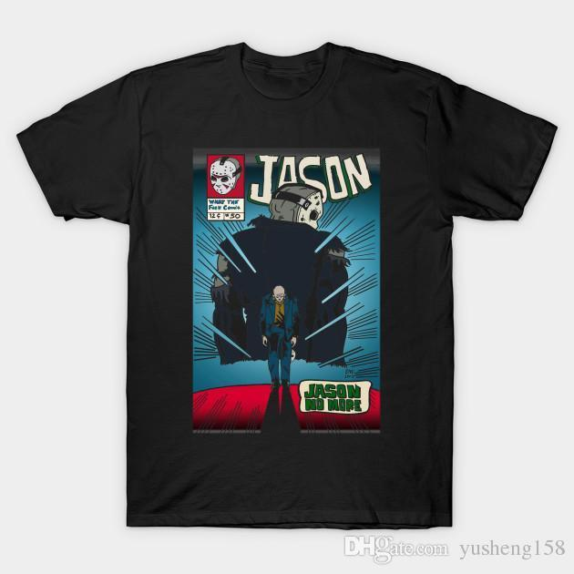 7417e79b25 Jason No More Jason Spiderman Crossover T Shirt Male Casual Tshirt Fashion  Mens Short Sleeve Plus Size 3XL Tee T Good T Shirt Design From Jie10