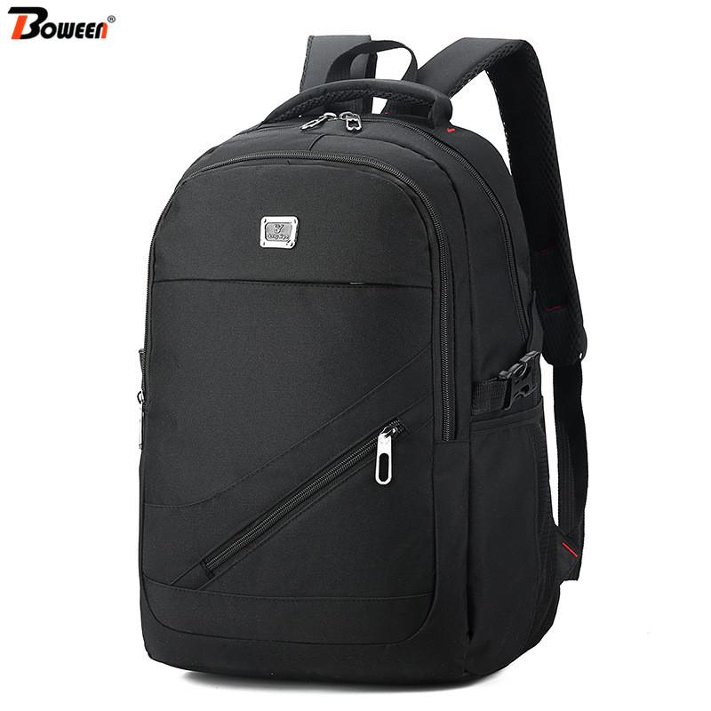 Large Capacity Men Laptop Backpack 15.6 USB Women Notebook Backpack Male Oxford High School Bag Student Bagpack for Teenage
